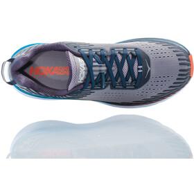 Hoka One One Clifton 5 Running Shoes Herren frost gray/ebony